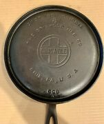 Griswold Block Logo Erie Pa 8 Cast Iron Griddle Round 608a