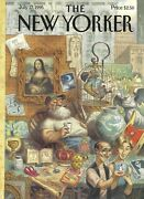 Cover Only New Yorker Magazine July 17 1995 - De Seve - Antique Store Treasures