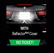 Anti Speed Camera And Red Light Traffic Camera Photo Blocker License Plate Cover