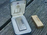 Vintage Dunhill Rollagas Lighters