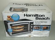 New Sealed Hamilton Beach Countertop Oven 31105d +convection And Rotisserie
