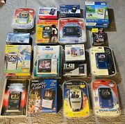 17 Vintage Casio Portable Lcd Tv Handheld Color Television All Sealed New Rare
