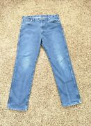 Vintage Wrangler Jeans Made In Usa 36x32 Cowboy Worn Western Ware Boot Cut