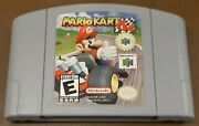 Nintendo N64 Mario Kart Loose Cart, Cleaned And Tested, Authentic