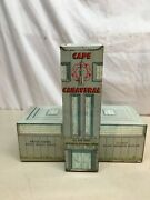 Vtg Marx Cape Canaveral Tin Litho Missile Test Center Building Space Age 1950s