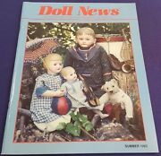 Summer 1993 Doll News Magazine By Federation Of Doll Clubs Nice