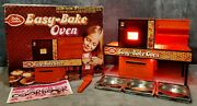 Vintage 1976 Kenner Betty Crocker Easy-bake Oven In Box, Manual+accessories Usa