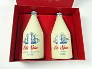 Vintage Old Spice Gift Set After Shave Lotion And Cologne 4¾ Oz Ship Recovery 1794