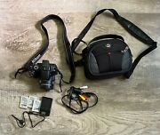Nikon Coolpix P510 Digital Camera With Charger / Batteries / Case