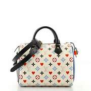 Louis Vuitton Speedy Bandouliere Bag Limited Edition Game On Multicolor