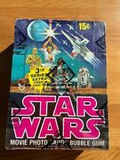 1977 Topps Star Wars Series 3 Wax Box Bbce Certified Authentic