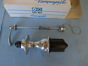 Campagnolo Record 8sp 130mm 32 Hole Rear Hub Nos With Skewer Fits Fun Derosa