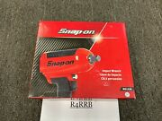 Snap-on Tools New Red 3/4 Drive Heavy-duty Air Impact Wrench Mg1250