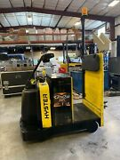 2016 Hyster Ride On Electric Tugger Warehouse Tow Tractor Model T5zac 24v