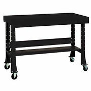 Shureshopand174 Mobile Bench W/acc Kit Stainless Steel Top 72x29 Gloss