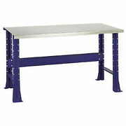 Shureshopand174 Bench Stainless Steel Top 72 X 29 St.louis Blue