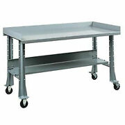 Shureshopand174 Mobile Bench W/acc Kit Painted Steel Top 72x 34 Sebring