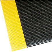 Notrax Razorback Safety-anti-fatigue Floor Mat 4and039 X 60and039 X 1/2 Black/yellow