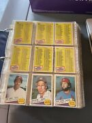 1985 Tops Baseball Cards Around 700 Cards