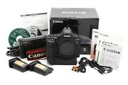 Near Mint Canon Eos-1d X Dslr Camera With 2 Batteries And Box 35416