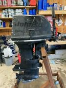2004 Johnson 55 Hp Military Outboard Complete 20 Shaft 2 Stoke Runs Great 3