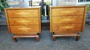 Vintage American Of Martinsville Mid Century Night, End ,side Tables Restored