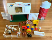 Vintage Fisher Price Little People Play Family Farm 915 Complete With Box