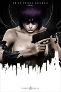 Ghost In The Shell Anime Movie Silk Painting Wall Art Home Decor - Poster 24x36