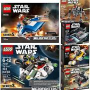 Lego Star Wars Micro Fighter 6 Types Set
