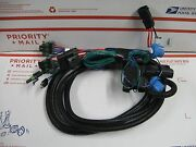Western Fisher Plow 3 Port Light Wiring Harness 28930 Hb-1 And Hb-5 Headlights