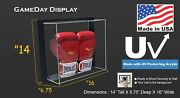 Ez Mount Framed Acrylic Wall Mount Boxing Glove Display Case Uv Protecting