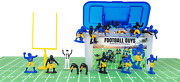 Kaskey Kids Football Guys – Blue And Yellow/black And Gold Inspires Kids Imagination