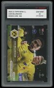 Jude Bellingham 2020-21 Topps Now Ucl 1st Graded 10 Soccer/football Rookie Card