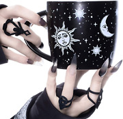 Coffee Mug Celestial By Rogue + Wolf Witch Goth Accessories For Women Hocus Po