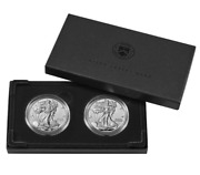 Set Of 6 American Eagle 2021 One Ounce Silver Proof Coin West Point 21ean