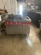 Vulcan Electric 3phase 208v 2 Deep Fryers With Warmer