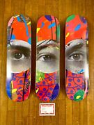 Paul Insect Skate Deck Andlaquoandnbspi See 1 2 And 3andnbspandraquo - Set Of 3 - Edition Of 101 - Sold Out
