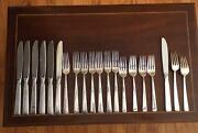Towle Sterling Silver Old Lace 20 Pieces - Flatware Forks And Knives