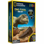 National Geographic Dino Fossil Dig Kit For Kids Toys Xmas Gift Item T1