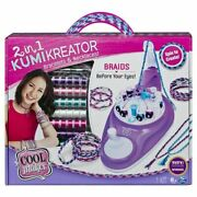 Cool Maker 2 In 1 Kumikreator Deluxe Necklace And Friendship Bracelet Making Sl