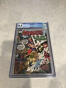 Avengers 77 1st Heroes For Hire 1970 Vision Black Panther Scarlet Witch Cgc 8.5