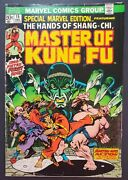 Special Marvel Edition 15 1st Appearance Shang-chi Marvel Comics 1973