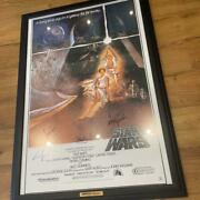 Star Wars Autographed Posters