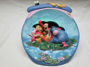 Complete Winnie The Pooh Hunnypot Sculptural Adventure Plate Collection