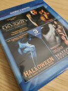 Halloween 3-films Movie Pack Collection Blu-ray+digital Curse H20 Resurrection