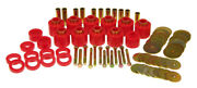 Prothane For 80-86 Jeep Cj5/7 Body Mount - Red - Pro1-111