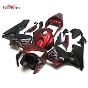 Motorcycle Red Black Fairings For Honda Cbr600rr 2003 2004 F5 03 04 Injection