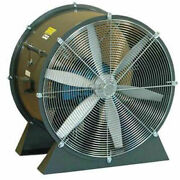 Americraft 24 Tefc Aluminum Propeller Fan With Low Stand 1/2 Hp 6000 Cfm