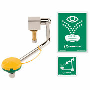 Haws Barrier-free Single Action Swing-down Eye/face Wash, Counter Top, Mounted