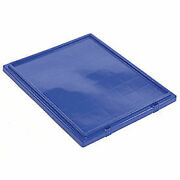 Lid For Stack And Nest Shipping Containers Snt190 Snt195 Blue Lot Of 6